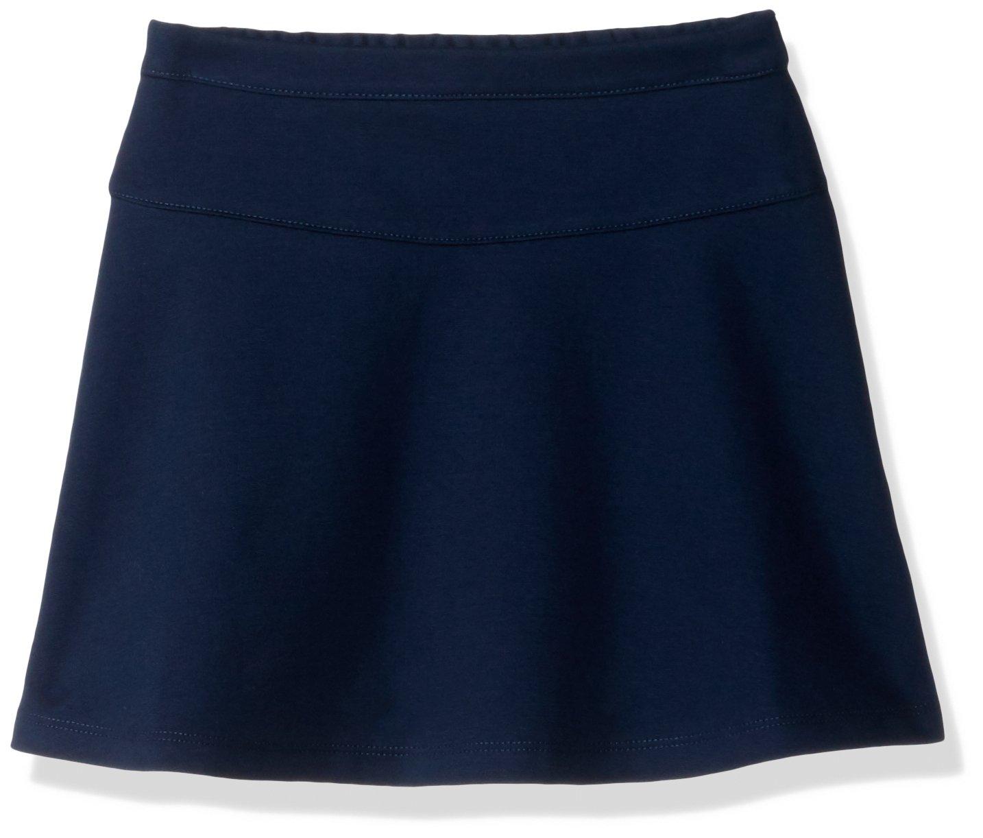 Gymboree Girls' Big Uniform Ponte Knit Skort, Navy, M