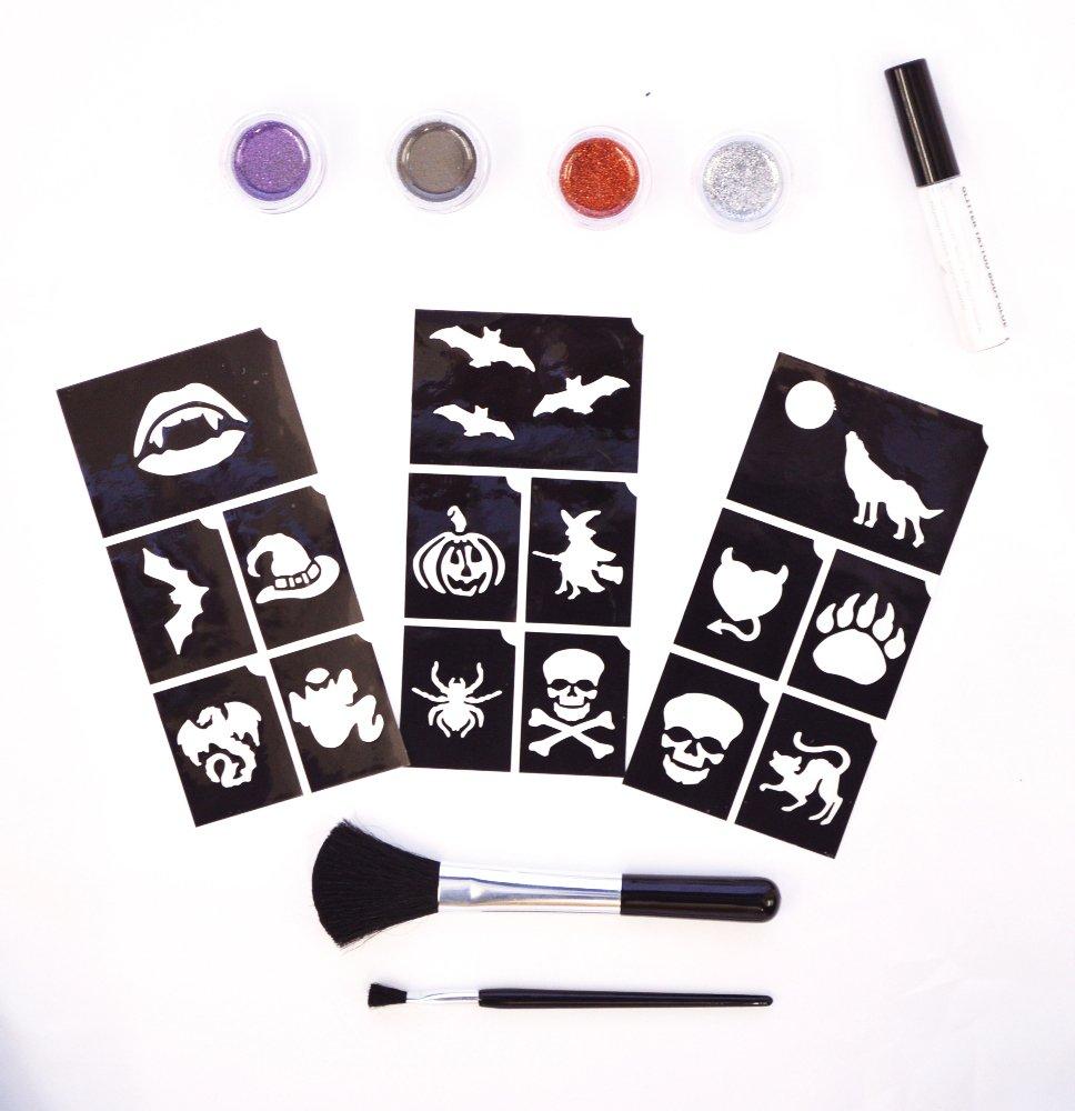 Glitter Tattoo Kits (Spooky) by Glimmer Body Art (Image #1)
