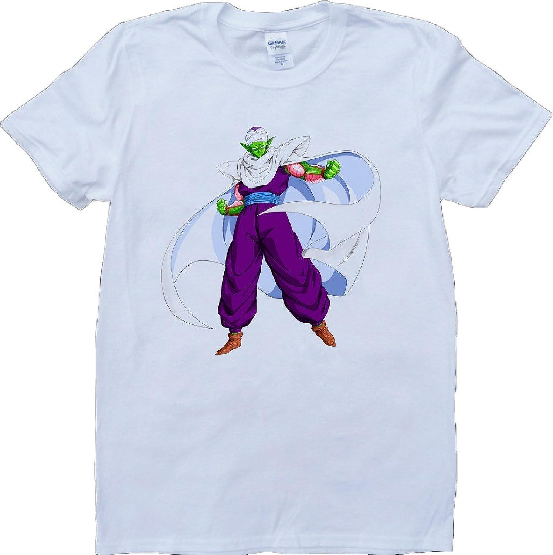 Dragon Ball Z Piccolo Short Sleeve Crew Neck Custom Made T-Shirt