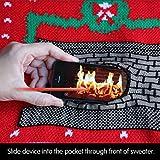 Morph Digital Dudz Fireplace Ugly Christmas