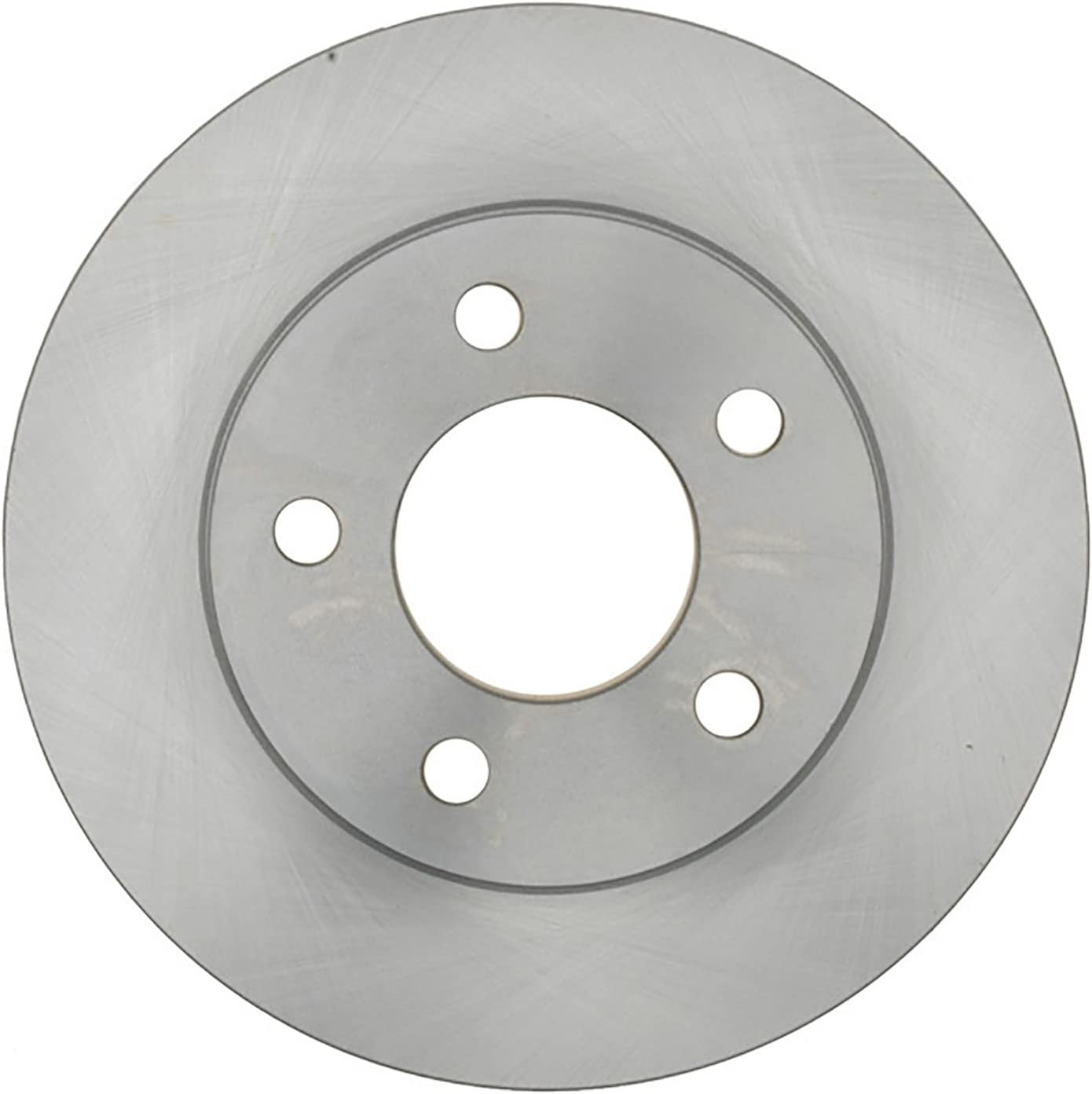ACDelco 18A121A Advantage Non-Coated Front Disc Brake Rotor