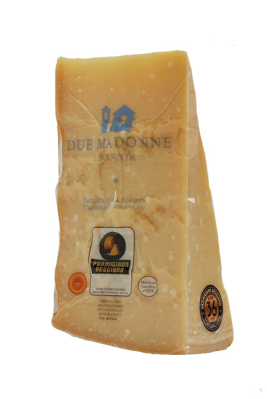 Parmigiano Reggiano (Parmesan Cheese) GMO Free 36 Months Aged PDO