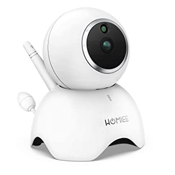 1080P Remote Home Monitoring Systems WiFi IP Camera,Hommie Wireless Indoor For
