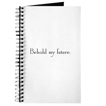 amazon com cafepress behold spiral bound journal notebook