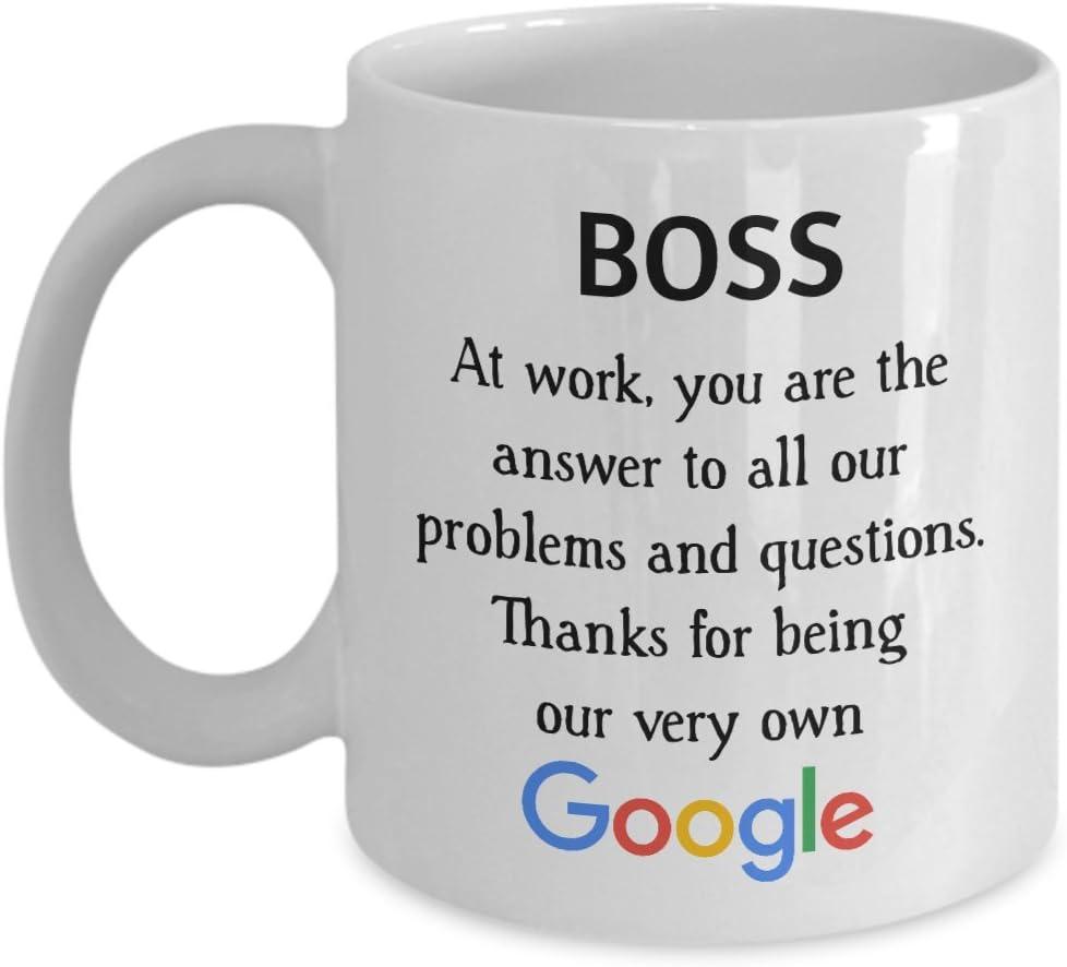 Taza con escritura en inglés, un divertido regalo para un colega, compañero de trabajo, pareja, jubilación, jefe, para hombres y mujeres.