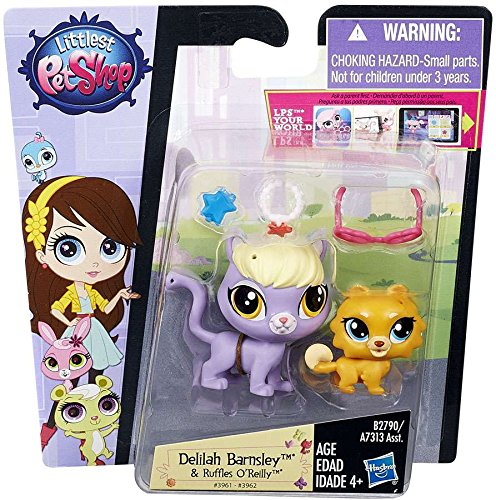 Littlest Pet Shop Pet Pawsabilities Delilah Barnsley and Ruffles O'Reilly (Barnsley Collection)