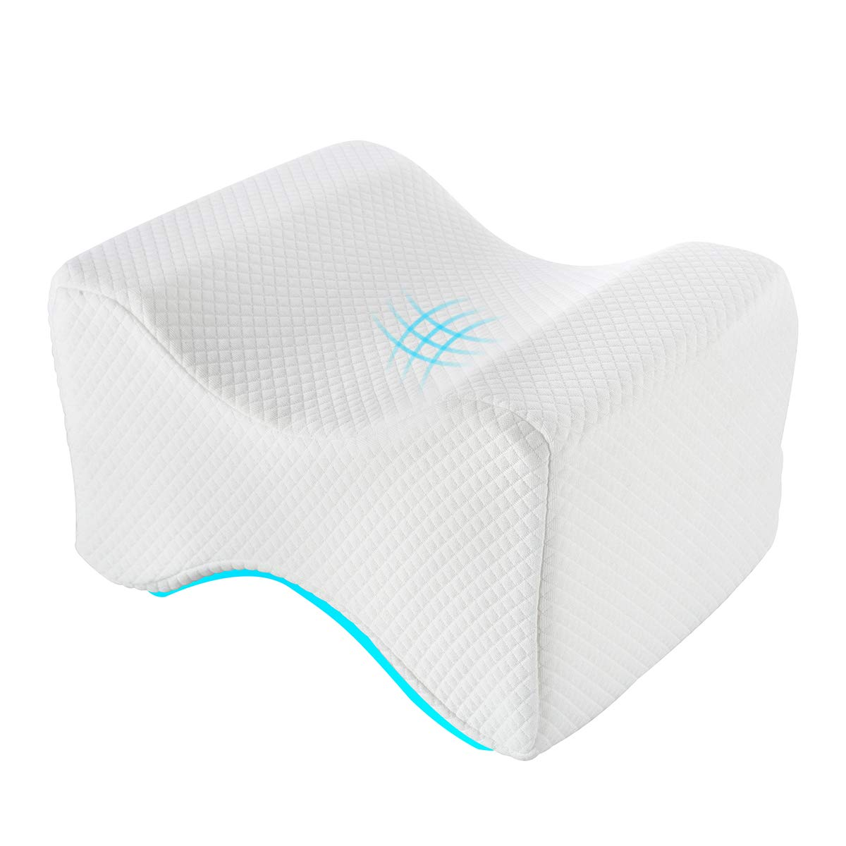 Memory Foam KneeLeg Wedge Memory Foam Pillow Elevation Back Pain Cushion Support