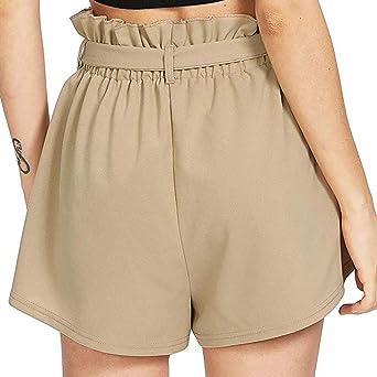 Bonjouree Shorts Femme /ét/é Taille Haute