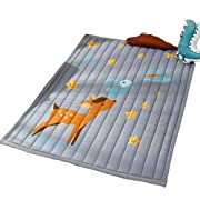 07bb663f21b3 Cusphorn Fawn Stars Cotton Baby Crawling Mat Washable Play Mat Kid's Room  Decor Floor Rugs