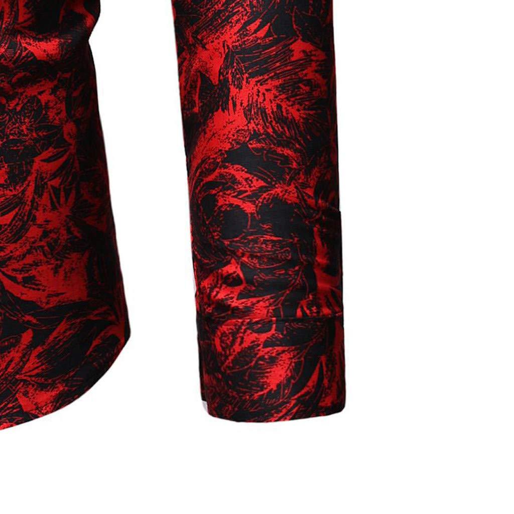 Camiseta para Hombre, YpingLonk Moda Camisa para Hombre Mangas ...