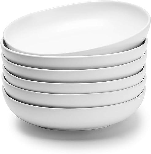 Teocera Porcelain Salad Pasta Bowls