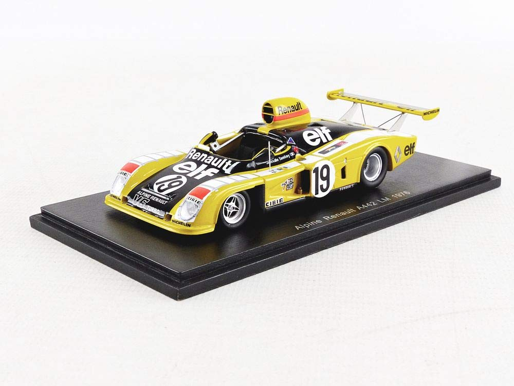 Spark S1551 Collectible Miniature Car - Black/Yellow/White