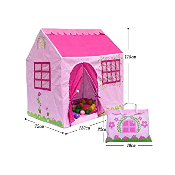 Pink House Shape Kids Play Tents Indoor/Outdoor Play Tent (Under 6 Years Old  sc 1 st  Amazon UK & Pink House Shape Kids Play Tents Indoor/Outdoor Play Tent (Under 6 ...