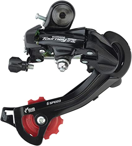 SHIMANO TOURNEY TX800 6//7-SPEED LONG CAGE DIRECT MOUNT REAR BICYCLE DERAILLEUR