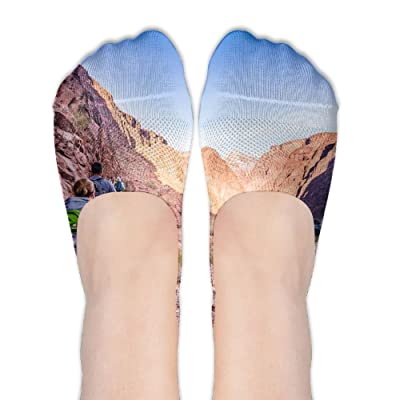 DISXHSH Thin Hidden No Show Liner Grand Canyon Np Hikers Athletic Running Socks Non Slip Flat Boat Line