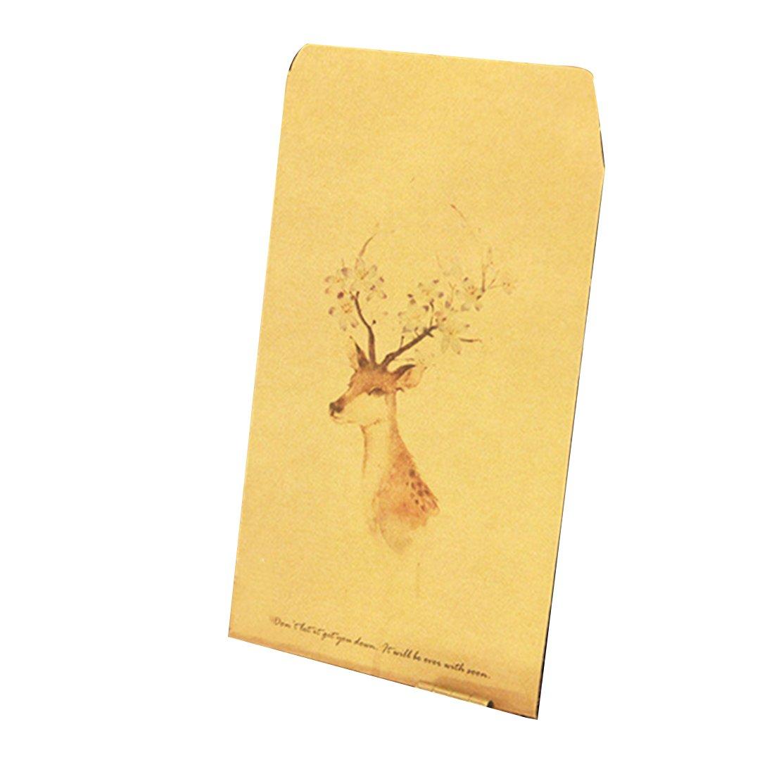 Td stores Deer Paper Envelope Cute Mini Envelopes Vintage by Td stores (Image #1)