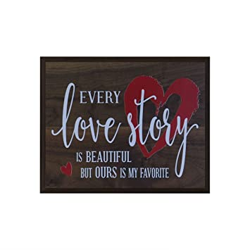 Amazoncom Every Love Story Is Beautiful Wedding Anniversary Gift