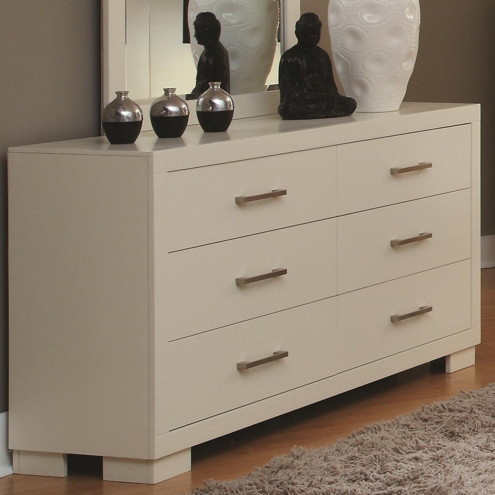 Coaster Home Furnishings Contemporary Dresser - White