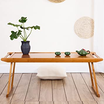 Mesa Plegable Nan Bamboo Kang Table Bay Tablas de la Ventana ...