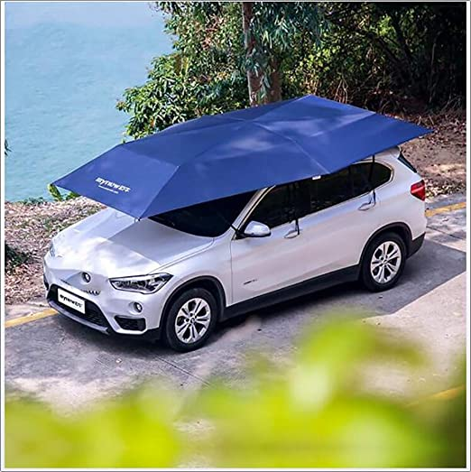 Portable Car Shade Canopy - Carports Garages