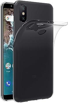 ivoler Funda Carcasa Gel Transparente para Xiaomi Mi A2, Ultra ...