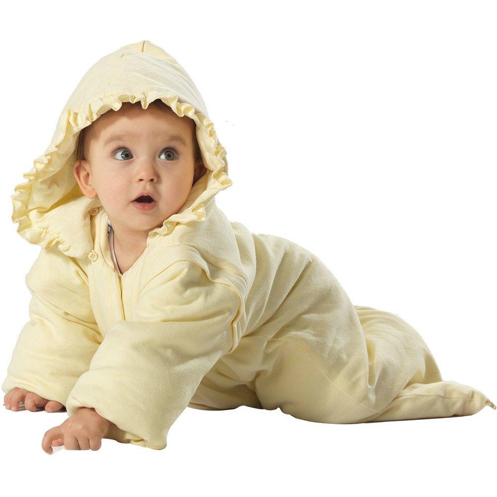 i-baby Saco de Dormir Bebé Pijama Manta Infantil Batas Invierno Espesado Cómodo Suaves Bolsas Sacos de Dormir con Largas Mangas Desmontables Para Niños ...