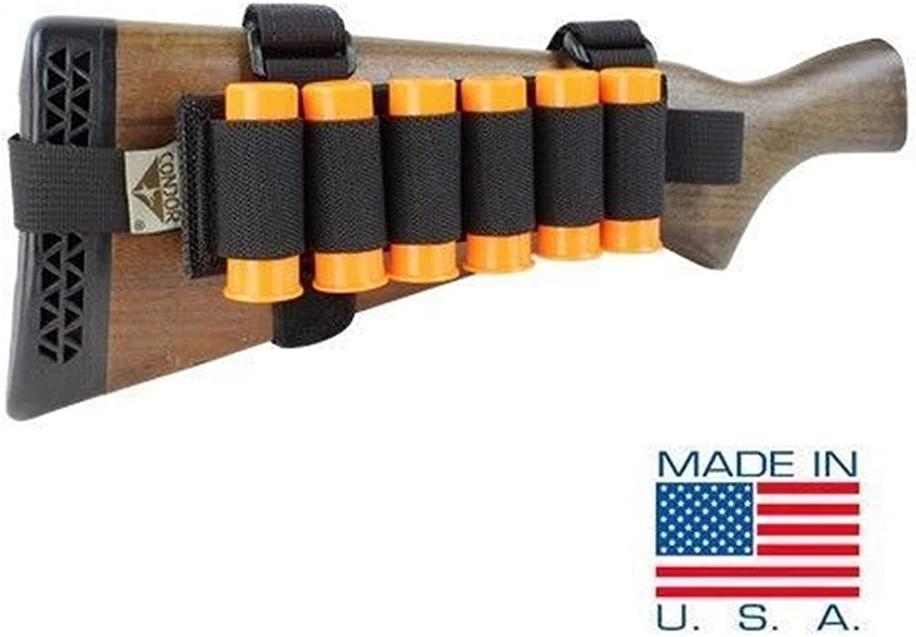Onermade Tactical Reload Buttcuff 6 Shell Ammo Pouch #US1024