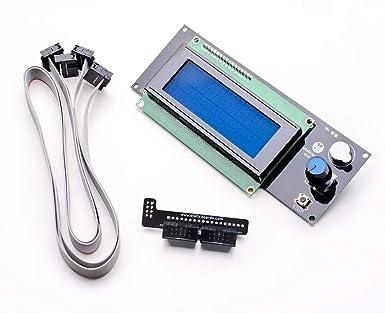 Pantalla LCD 2004 RepRapDiscount Smart Controller para Impresora ...