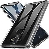 Custodia Nokia 8 Sirocco, LK Case in Morbido Silicone di Gel Antigraffio in TPU Ultra [Slim Thin] Cover Protettiva - Trasparente