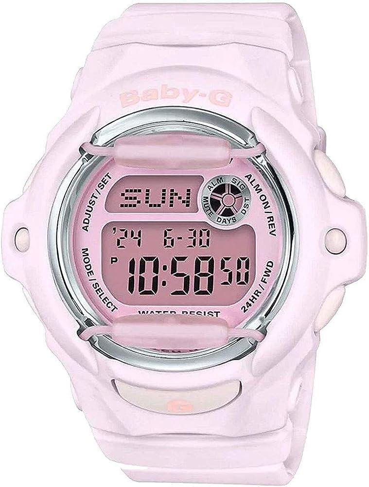 Casio Baby-G Women's G-Shock BG169M-4 Digital Watch Pink