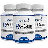 Nutralyfe Regain 100% Natural & Herbal Supplement for Hair Loss - 60 Veg Capsules, Pack of 3