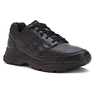 ASICS Women's GEL-Foundation? Workplace Black/Onyx/Silver Sneaker 9 EE -