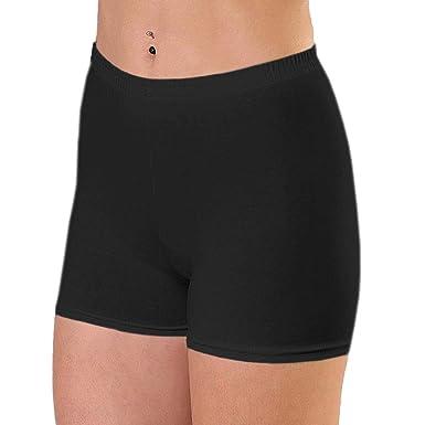 Alkato Damen Shorts Hotpants Blickdicht Stretch