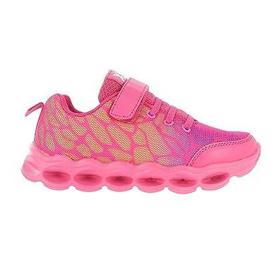 XTI XTI-55354 Zapatillas Niñas Recargables USB Led Luces Luminosas Rosa 30: Amazon.es: Zapatos y complementos