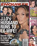 Jennifer Lopez/Marc Anthony/Dayanara Torres l Casey & Caylee Anthony l Rachael Ray l Sarah Palin - January 5, 2009 National Enquirer