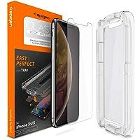 Spigen Glas.Tr Fit Slim HD Cam Ekran Koruyucu iPhone XS / iPhone X Ile Uyumlu / Maksimum Koruma