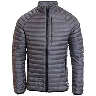 ddeaab3a5f78eb Superdry Mens Core Down Jacket In Grey (Small): Amazon.co.uk: Clothing