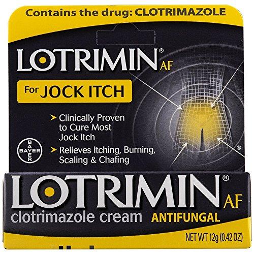 Lotrimin AF Jock Itch Antifungal Cream 0.42 oz (Pack of 12) by Lotrimin