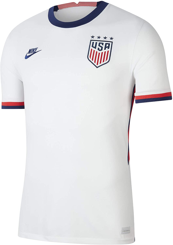 Nike 2020-21 USA Womens Home Jersey (Men's Cut) - White