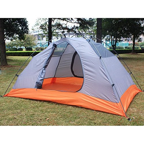 Outdoor-Camping Zwei Personen Zwei Schichten Zelt wasserdicht winddicht Zelt