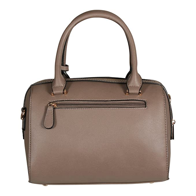 9222343a45c19 L. CREDI Damen Handtasche Agnes Taupe (grau beige)  Amazon.de  Bekleidung