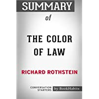 Summary of The Color of Law by Richard Rothstein - Conversation Starters