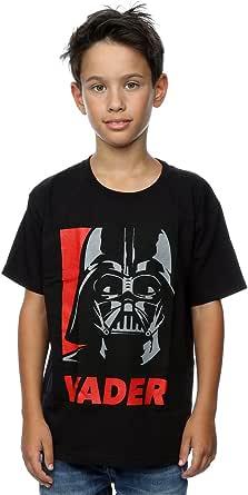 Star Wars niños Darth Vader Poster Camiseta
