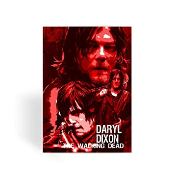 The walking dead card greeting card note card birthday card the walking dead card greeting card note card birthday card blank inside m4hsunfo