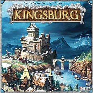 Giochi Uniti Kingsburg - Juego de Mesa (en Italiano) [Importado de Italia]: Amazon.es: Juguetes y juegos