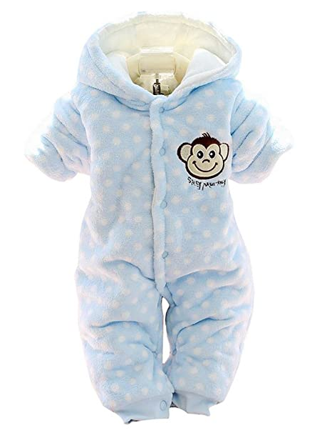 1dfb6156c9b7 Buy Baby Toddlers Cotton Winter Rompers Playsuit Outfit Coat ...