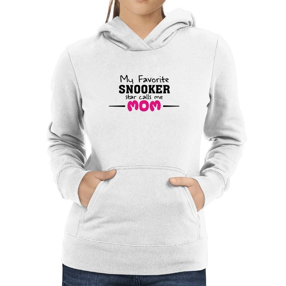 Eddany My Favorite Snooker Star Calls me mom Women Hoodie