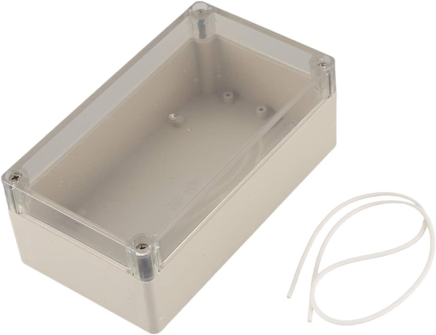 WOVELOT Caja de proyecto electronico de conexiones de plastica de ...