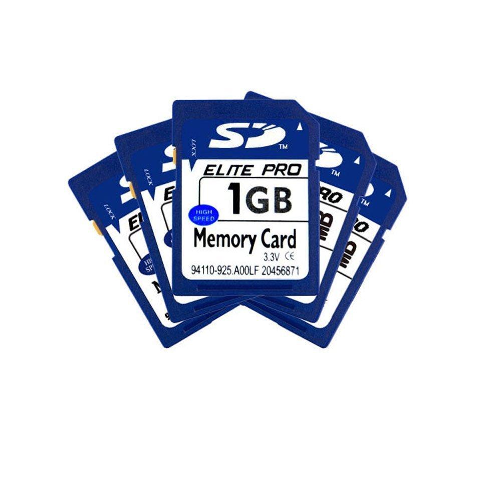 SHINA 1GB 5-Tarjeta de memoria SD de alta velocidad para las ...