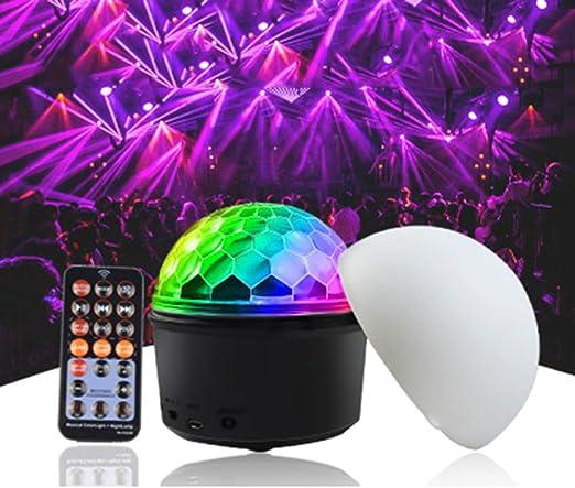 XGLL Proyector Estrella LED De 9 Colores Flash De Proyección ...